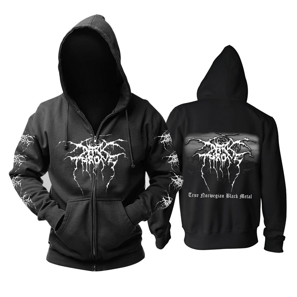 Bloodhoof Darkthrone Death Metal Band Sweatshirt Hoodie Asian Size