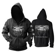 Bloodhoof darktrone zespół death metalowy bluza z kapturem w rozmiarze azjatyckim