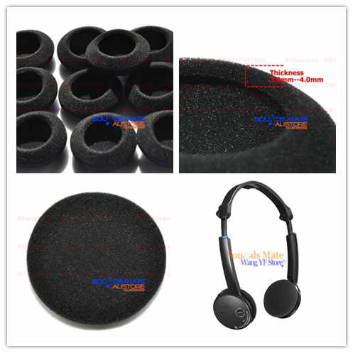 10 sztuk piankowe gąbki słuchawek poduszka zastępcza etui na sony DR BT22 bezprzewodowy zestaw słuchawkowy stereo z bluetooth słuchawki