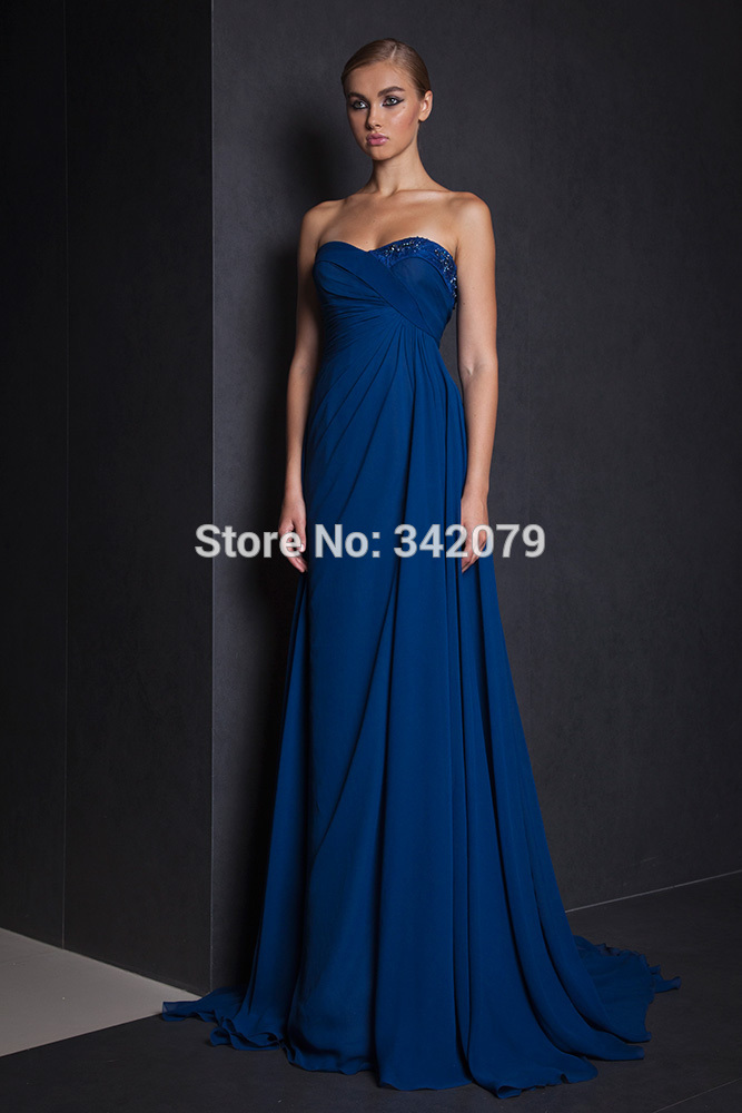Online Buy Wholesale midnight blue bridesmaid dress from China ...
