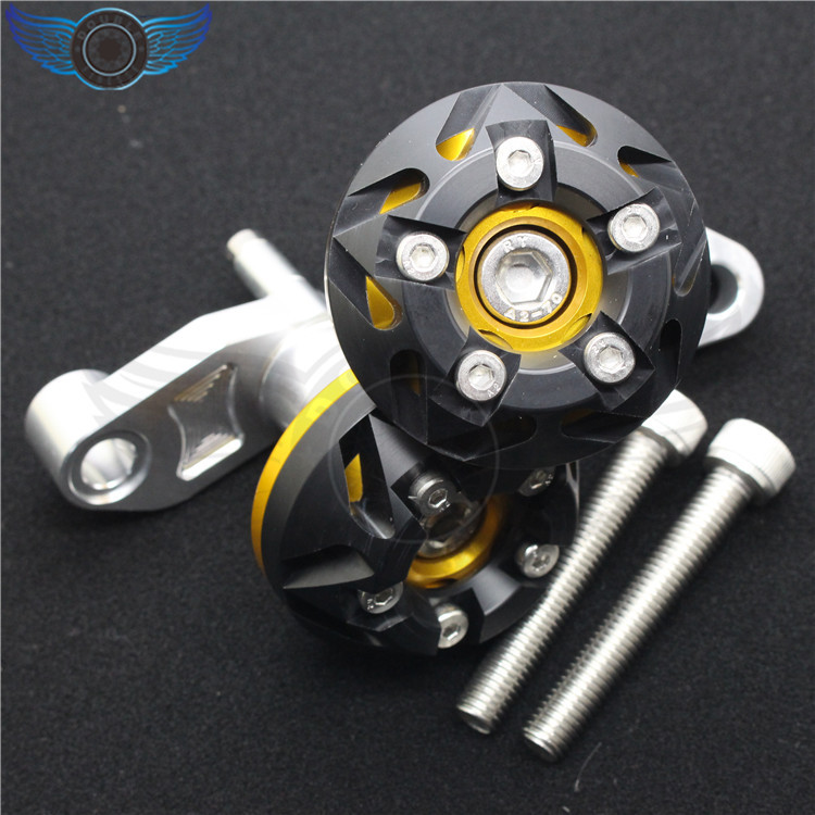ФОТО motorcycle aluminum engine cover frame sliders+bolts crash protector motorbike parts firt for BMW 2009-2010 S1000RR 2011-2012