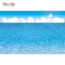 Фоны для фотосъемки yeele с изображением Морского Пейзажа облака