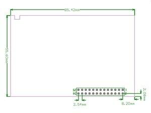Image 4 - 3.5 pouce 480*320 écran tactile framboise Pi B/B + V3.0 Module daffichage à cristaux liquides de résistance de bouclier TFT avec le contrôleur du stylo tactile XPT2046