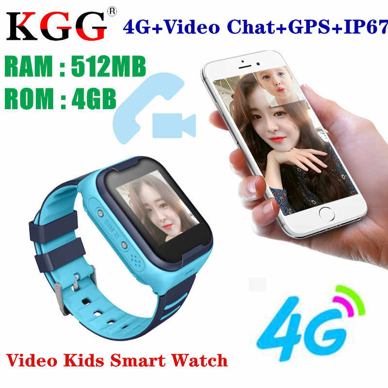 2019 Smart Watch Kids 4G Sim Card GPS WIFI Camera Kids Phone Position Children Watch 1.4 inch Touch Screen SOS Smart Baby Watch