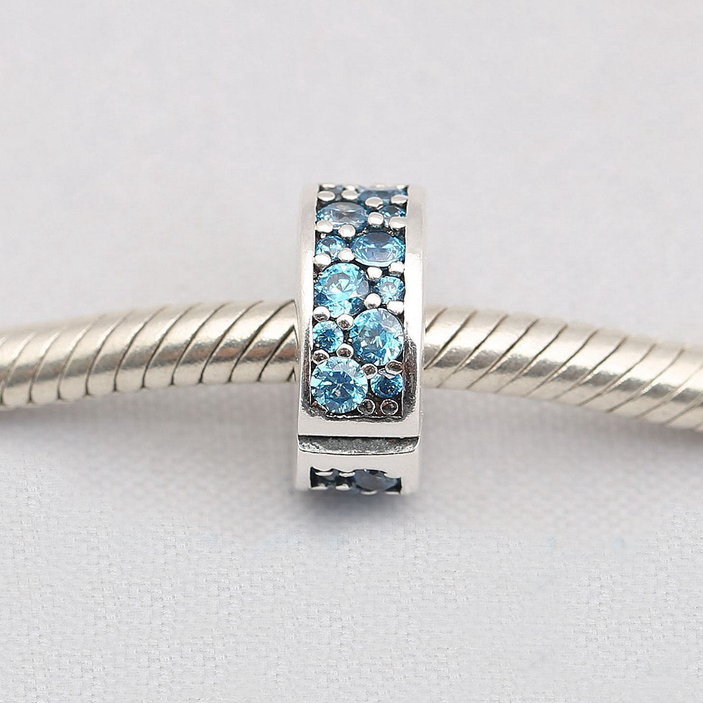 pandora charm spacer clip