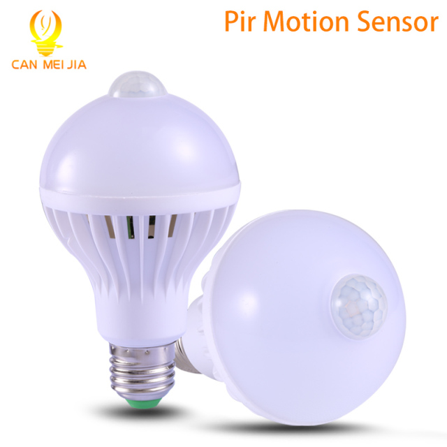 PIR Motion Sensor Lamp 5w Led E27 Bulb Lights 7w 9w Auto Smart LEDs | PIR Infrared Body Bulbs