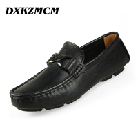 2016 Handmade Genuine Leather Men Flats Casual Leather Men Shoes High Quality Men Loafers Moccasin Driving