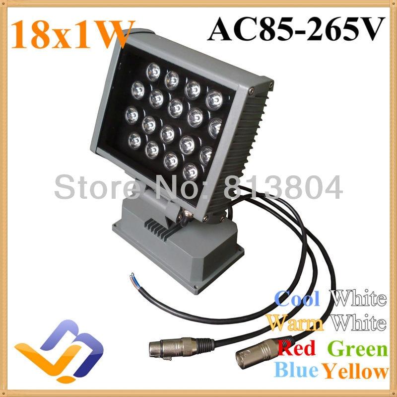 ФОТО 18w rgb led outdoor lighting18w projectine lamp led wall spotlight landscape lighting lamp outdoor led spotlight