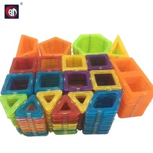 BD Toys 130pcs Mini Magnetic Block Set Designer Construction Model Building Toy Plastic Educational Toys For