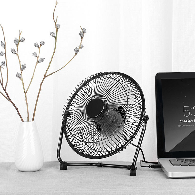 Mini USB Fan Table Personal Fans Portable Air Cooler Fan Portable Desktop Office Cooling Fan Ventilador USB Use Home Student portable size household office use handy cooler portable size table desktop fan cooler air conditioning cooler fan gift