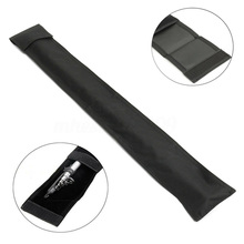 цена на 1/2 Foldable Dirt Proof Pool Cue Bag Billiard Stick Pouch Sport Accessories Outdoor Adjustable Durable Portable Rod Case Storage