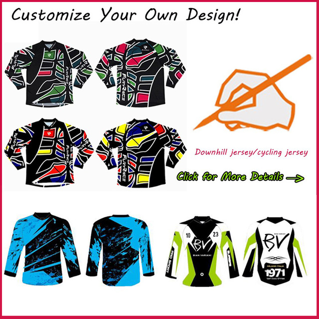 Creat Your Own Design Custom Personalized Motocross Jersey