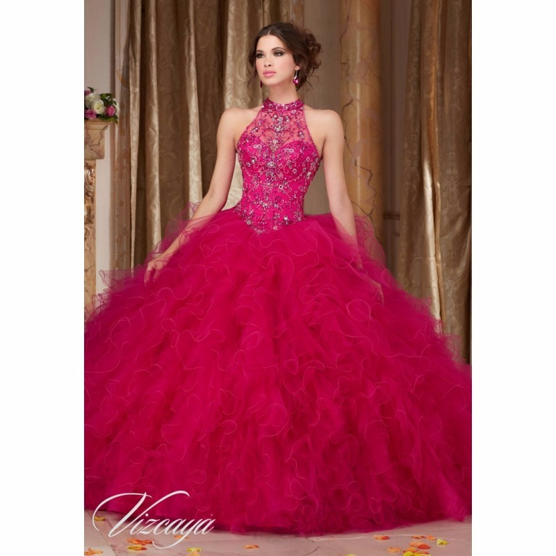 Hot girls in quiceneiera Hot Pink Crystal Beading Sweet Ball Gown Quinceanera Dresses For 15 Years Girls Organza Ruffled Halter Party Dress Dresses For 15 Ball Gowns Quinceanera Dressesquinceanera Dresses Aliexpress