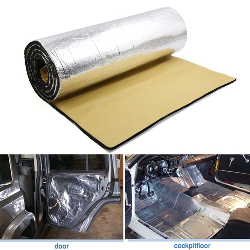 394mil 6.46/10.76/16.36 Practical Muffler Seat Bottom Auto Heat Insulation Parts Truck Sound Insulation Soundproof Cotton