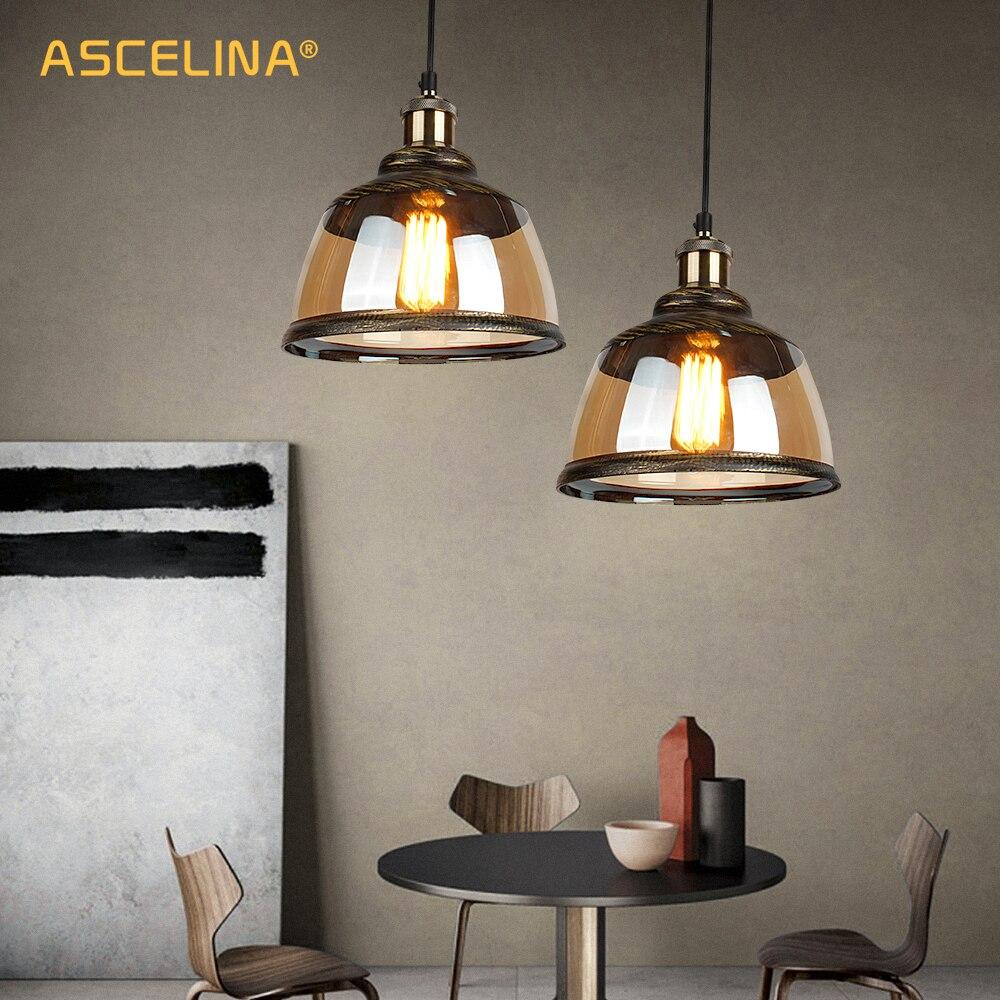 pendant light,vintage industrial pendant light,Loft retro pendant lamp,hanglamp,green bronze glass lampshade,E27,for Home&store