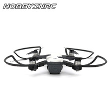 HOBBYINRC Rc Drone Accessories 4Pcs Propeller Guard Circle Quick Release Blade Cover Protective Ring for DJI Spark – Black
