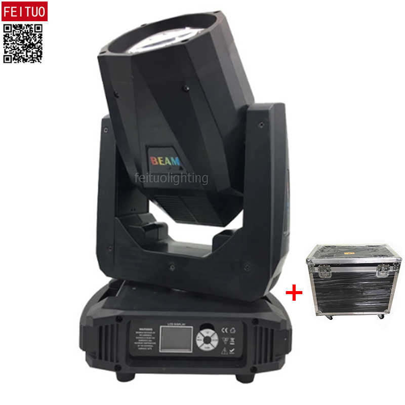 10pcs + Flycase Zoom Dyeing Strobe Effect 100w Beam Led Moving Head Dmx Light 8 Moter 16 / 20 Channels New Lyre Beam Stage Light