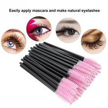 50Pcs Makeup Accessories Disposable Eyelash Brush Makeup Mas