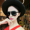 2017 Lady Pilot Sunglasses Women Brand Designer Vintage Round Sun Glasses Female Lentes De Sol Outdoor Luxury Sun Glases UV400