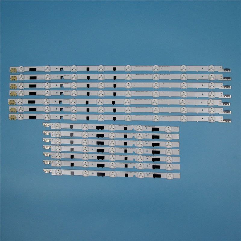 832mm 14 Piece/Set LED Array Bars For Samsung UE40F6330AK UE40F6340SS 40 Inches TV Backlight LED Strip Light Matrix Lamps Bands