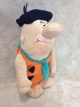 The Flinstones Plush Fred Flintstone Plush Toys 33cm Original Brand