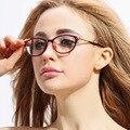 Бесплатная prescrption заполнения близорукие очки closesighted оптический дизайнерский бренд очки кадры женщин близорукость очковая оправа 5936