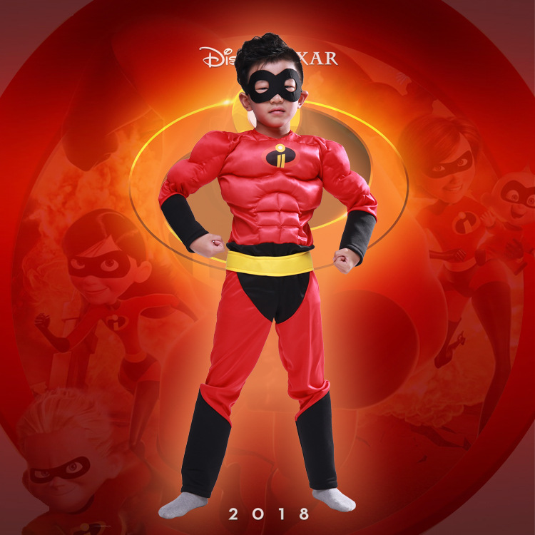 Boy The Incredibles costume Halloween Costume For Kids Role Play Party Cosplay Anime Tod ...