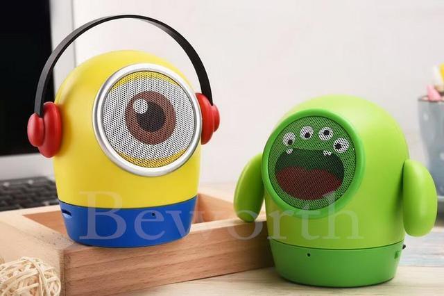 speakers music. cute cartoon mini bluetooth speaker wireless portable stereo speakers tf usb mp3 music player fm radio