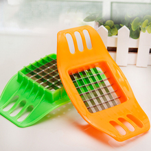 Stainless Steel Vegetable Potato Slicer Cutter Chopper Chips Making Tool Potato Cutting Fries Tool Kitchen Accessories