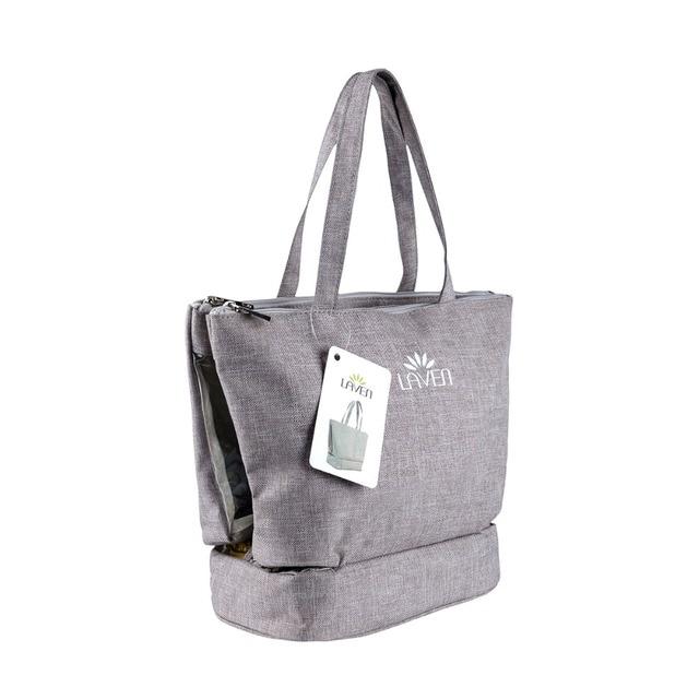 30 Pcs 3- in-1 Portable Large Capacity Travel Toiletry Bag Organizer Cosmetic Bag for Women Makeup or Men Shaving Kits L0264X