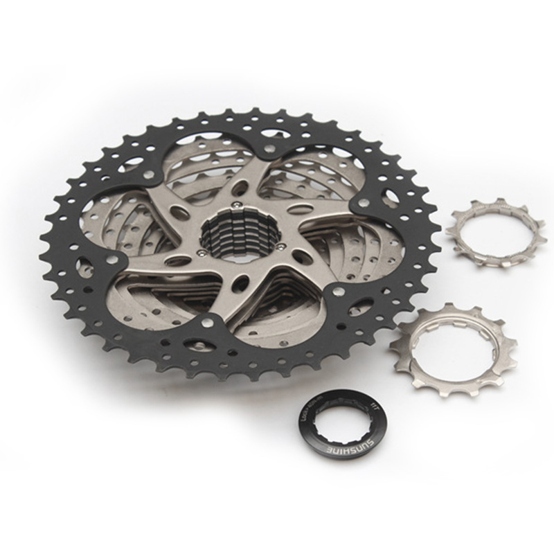 Bicycle crankset  bicycle  flywheel 10 speed MTB cassette 10S 11-42T 11-40T cassette Crankset bicycle freewheel  mtb mountain bike bicycle 10s cassette freewheel 8 speeds flywheel 11 13 15 18 21 24 28 32 36t teeth crankset