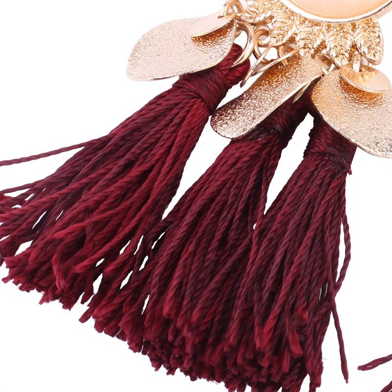 Серьги кисточки naomy & zp в этническом стиле женские Висячие