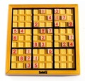 Free shipping,figure toys for children,woodiness adult logic game, chess and sudoku sudokus fancy playing sudoku puzzles