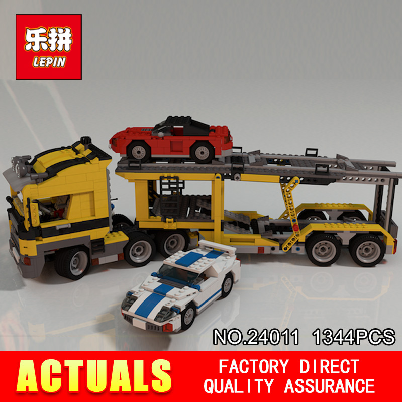 Lepin 24011 1344Pcs Technic Series The Three in One Highway Transport Set Educational Building Blocks Brick Toys Model Gift 675 transport phenomena in porous media iii