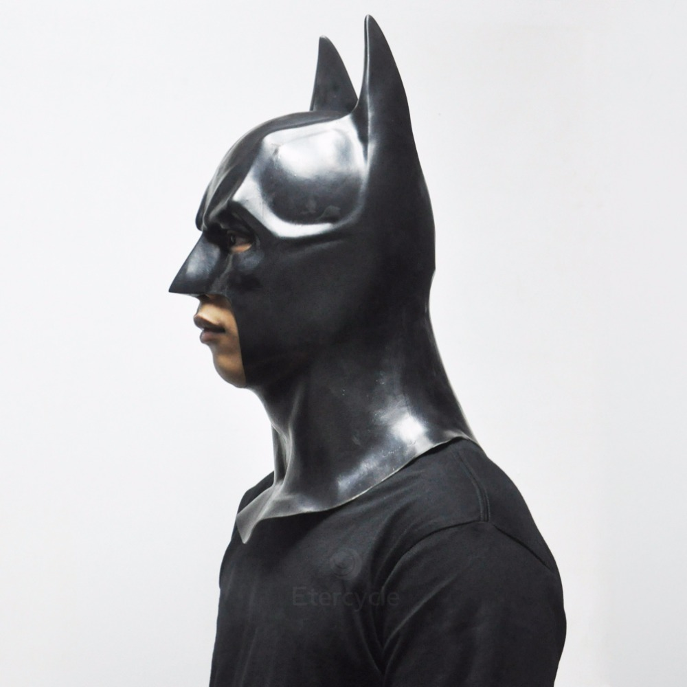 Batman Maskaları Yetkinlər üçün Halloween Maskası Tam Üz Latex - Şənlik aksesuarları - Fotoqrafiya 3