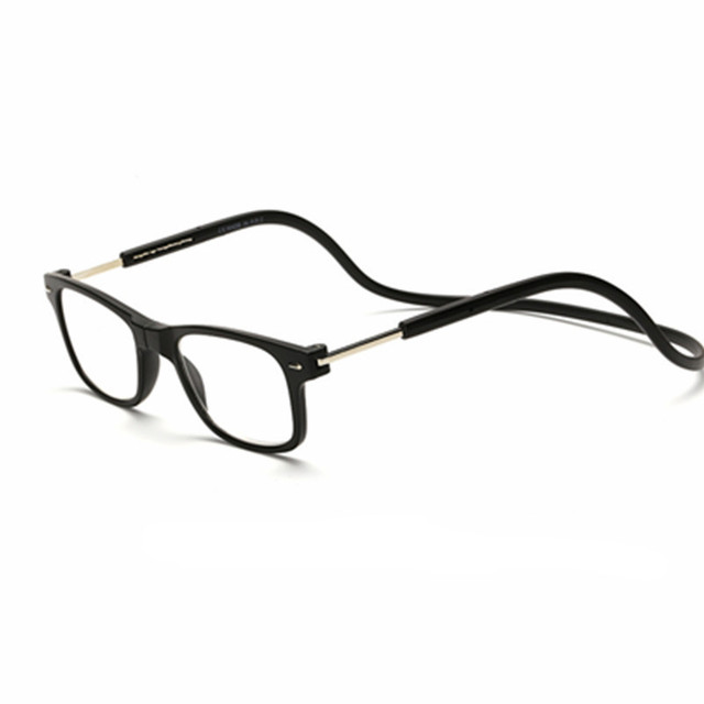 55d97e8596 Magnetic Reading Glasses Men Women Hanging Neck Folding Glasses Magnetic  Eyeglass magnet Gafas De Lectura Oculos 04
