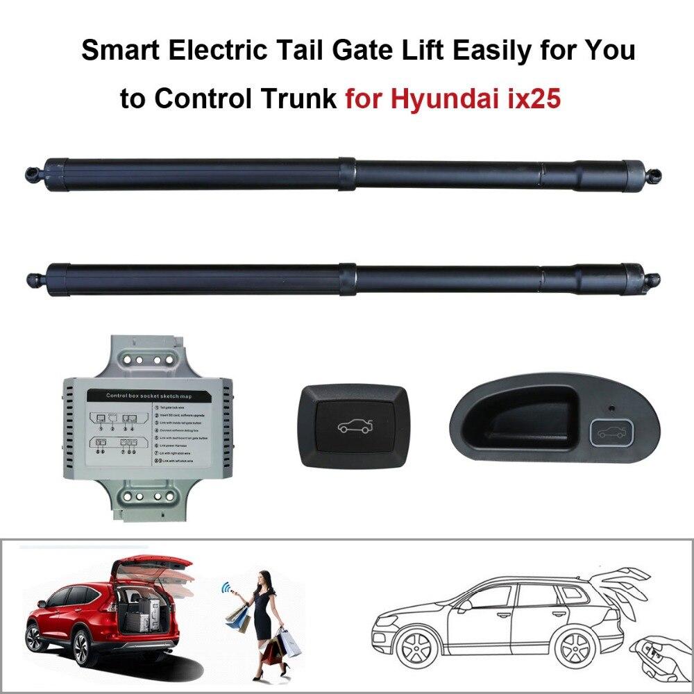 Smart Électrique Queue Porte Ascenseur Facilement pour Vous à Contrôle Tronc costume pour Hyundai ix25 Hyundai Creta Contrôle par Télécommande et Boutons