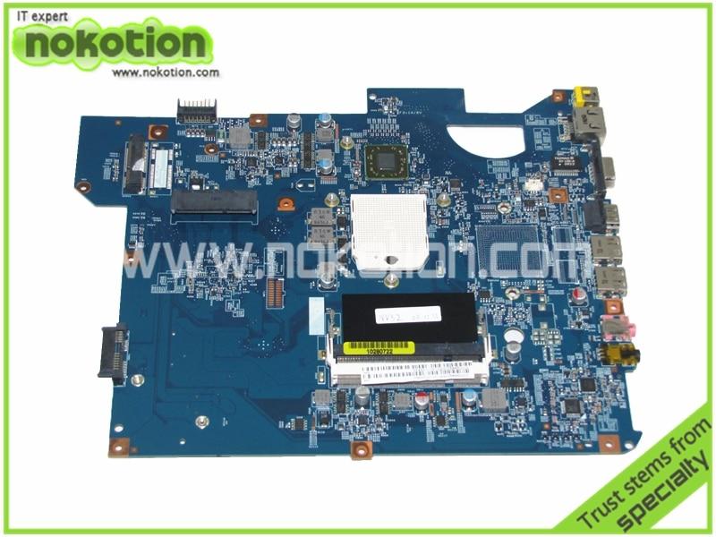 Laptop Motherboard for Gateway NV52 MBWDJ01001 48.4BX04.01M DDR2 Mainboard Free Shipping laptop motherboard for gateway nv54 mbwdg01001 ddr2 mainboard full tested free shipping