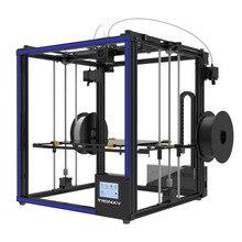 2018 новые Tronxy 3D-принтеры X5ST-2E крупный шрифт Size330 * 330*400 мм Разноцветные двойной канал подачи 3D-принтеры металлический каркас