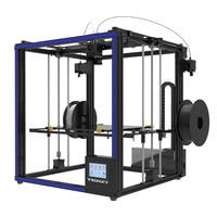 2018 Newest Tronxy 3D Printer X5ST 2E Big Print Size330*330*400mm Mixed color Double Feeding port 3d printer Metal frame