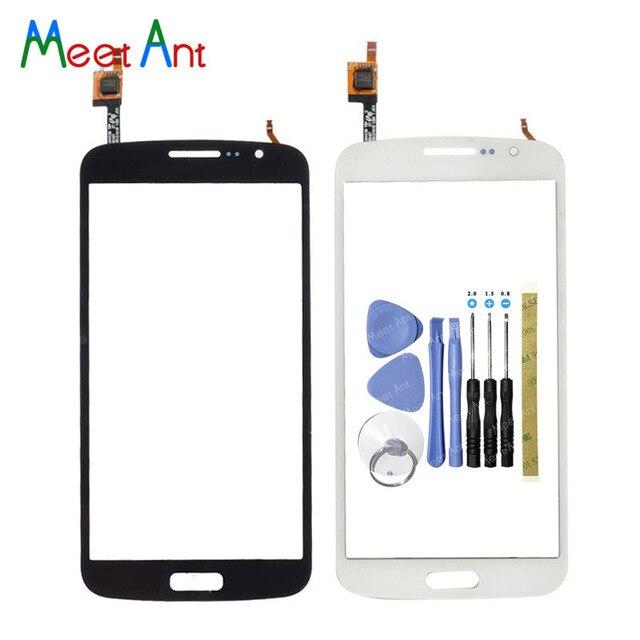 """5.25 """"עבור Samsung Galaxy גרנד 2 G7105 G7102 G7106 G7108 DUOS מגע מסך Digitizer חיישן חיצוני חזית זכוכית עדשה פנל"""