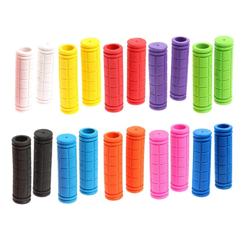 Silicone Bike Handlebar Grips Cover BMX MTB Mountain Bicycle Handles Anti-skid Bicycles Bar Grips Comfort Fixed Gear Parts
