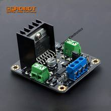 Upgrade DFRobot MDV 4.8 ~ 46V Dual 2A 2x2A DC Motor Controller Fahrer DF-MD V1.3, l298N chip 25W kompatibel mit arduino etc.