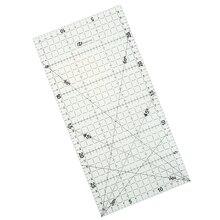1 шт. 30*15 см Лоскутная линейка инструменты для квилтинга Высококачественный акриловый материал прозрачная шкала линейки школьные принадлежности