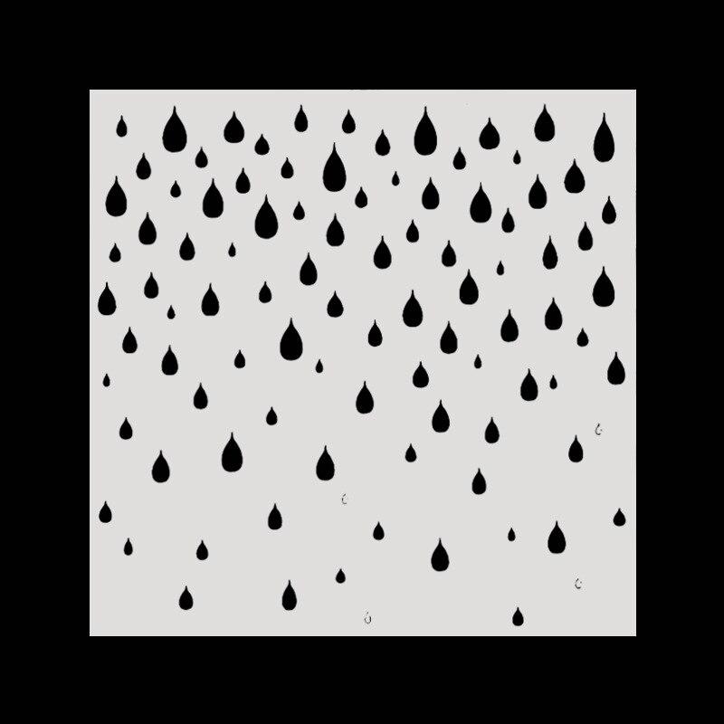 15*15 непромокаемые Многослойные трафареты для Diy скрапбукинга/фотоальбома декоративное тиснение окраски, картина трафарет, домашний декор