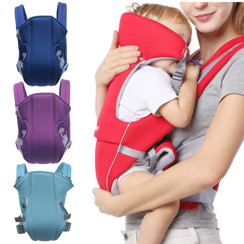 Adjustable Baby Infant Toddler Newborn Safety Carrier 360 Four Position Lap Strap Soft Baby Sling Carrier