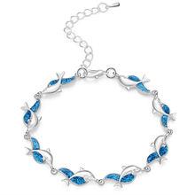 Милый Мини Дельфин черепаха очаровательные женские браслеты
