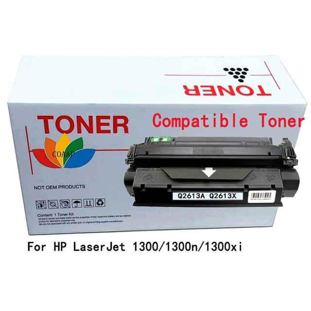 Cartouche de Toner COAAP 13A 13X Q2613A Q2613X (1 paquet noir) Compatible pour HP LaserJet 1300/1300N/1300XI
