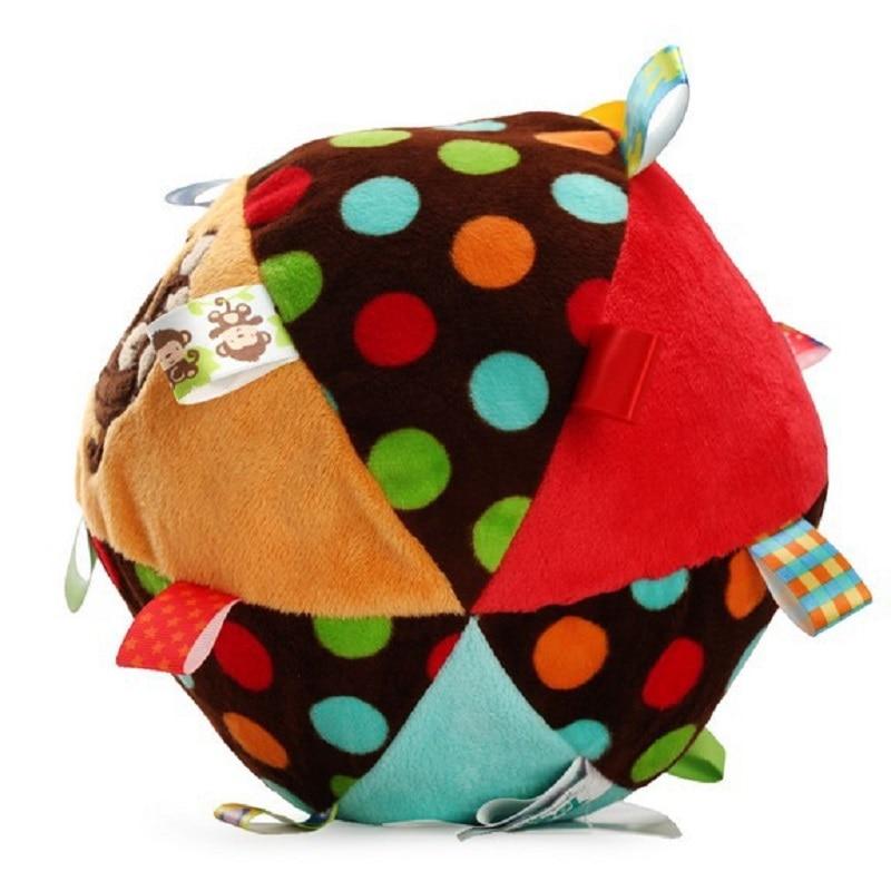 Mono Colorido Anillo de Bebé Juguete de Pelota de Bell Juguetes - Juguetes para niños - foto 5