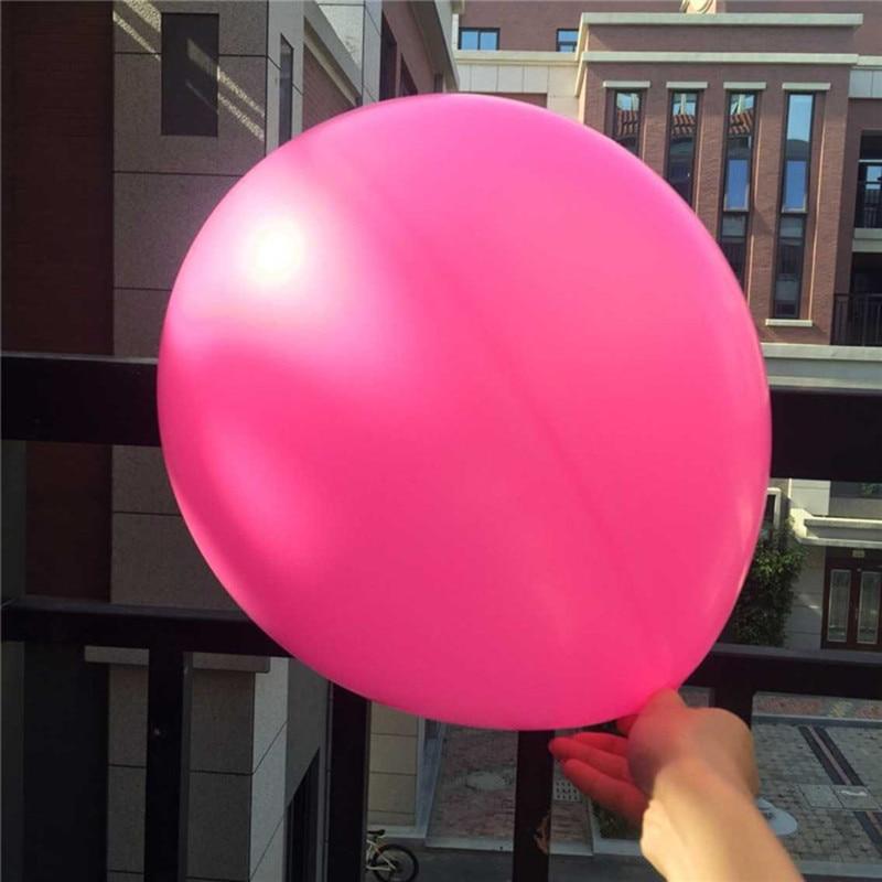 unids pulgadas globo de ltex de colores redondas gigantes globos globos para la fiesta